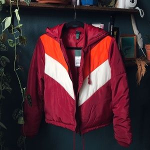 NWT Wild fable puffer jacket